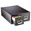Drawer Card Cabinet Holds 3000 6 x 9 cards, 20 3/8 x 16 x 8 3/8
