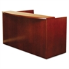 Mira Series Wood Veneer Reception Desk Shell, 72w x 36d x 43-1/2h, Medium Cherry