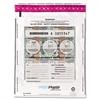 FREEZFraud Tamper-Evident Deposit Bags, 12 x 16, Clear, 100/Box