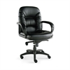 Alera Alera Nico Series Mid-Back Swivel/Tilt Chair, Black