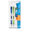 Paper Mate Clear Point Mechanical Pencil Starter Set, 0.9 mm, Lime Green, Royal Blue, 2/Set