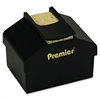 "Premier Aquapad Envelope Moisture Dispenser, 3 3/4"" x 3 3/4"" x 2 1/4"", Black"