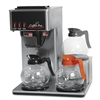 Three-Burner Low Profile Institutional Coffee Maker, Stainless Steel