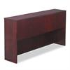Alera Verona Veneer Series Storage Hutch w/4 Doors,71w x 15d x 36-1/2h, Mahogany