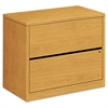 10500 Series Two-Drawer Lateral File, 36w x 20d x 29-1/2h, Harvest