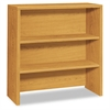 HON 10500 Series Bookcase Hutch, 36w x 14-5/8d x 37-1/8h, Harvest