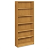 1870 Series Bookcase, Six Shelf, 36w x 11 1/2d x 84h, Harvest