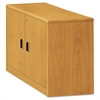 HON 10700 Series Locking Storage Cabinet, 36w x 20d x 29 1/2h, Harvest