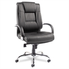 Alera Alera Ravino Big & Tall Series High-Back Swivel/Tilt Leather Chair, Black