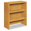 HON 10700 Series Bookcase Hutch, 32 5/8w x 14 5/8d x 37 1/8h, Harvest