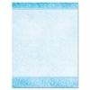Geographics Design Suite Paper, 24 lb, Aqua Paisley, 8 1/2 x 11, 100/Pack