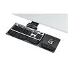 Fellowes Professional Executive Adjustable Keyboard Tray, 19w x 10-5/8d, Black