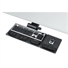 Fellowes Professional Premier Series Adjustable Keyboard Tray, 19w x 10-5/8d, Black