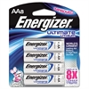 Energizer Lithium Batteries, AA, 8/Pack