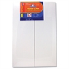 Guide-Line Foam Display Board, 48 x 36, White, 6/Carton