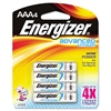 Energizer Advanced Lithium Batteries, AAA, 4/Pack