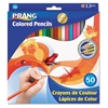 Colored Woodcase Pencils, 3.3 mm, 50 Assorted Colors/Set