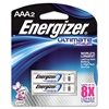 Lithium Batteries, AAA, 2/Pack