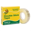 "Duck Permanent Double-Stick Tape, 1/2"" x 900"", 1"" Core, Clear"