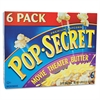 Pop Secret Microwave Popcorn, Movie Theater Butter, 3.5oz Bags, 6/Box