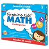 Carson-Dellosa Publishing CenterSOLUTIONS Thinking Kids Math Cards, Kindergarten Level