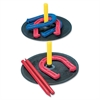 s Indoor/Outdoor Rubber Horseshoe Set
