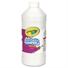 Artista II Washable Tempera Paint, White, 32 oz