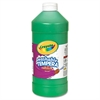 Crayola Artista II Washable Tempera Paint, Green, 32 oz