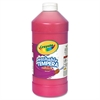 Crayola Artista II Washable Tempera Paint, Red, 32 oz