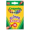 Crayola Glitter Crayons, 16 Colors/Set
