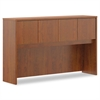 basyx Laminate Hutch With Four Doors, 60w x 14 5/8d x 37 1/8h, Medium Cherry