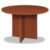 BL Laminate Series Round Conference Table, 48 dia. X 29 1/2h, Medium Cherry