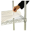 Shelf Liners For Wire Shelving, Clear Plastic, 48w x 18d, 4/Pack