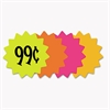 "Cosco Die Cut Paper Signs, 4"" Round, Assorted Colors, Pack of 60 Each"
