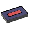 Felt Replacement Ink Pad for 2000PLUS Economy Message Dater, Red/Blue