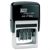 COSCO 2000PLUS Economy Dater, Self-Inking, Black