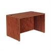 Valencia Series Straight Desk Shell, 47 1/4 x 29 1/2 x 29 5/8, Med Cherry