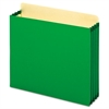 Pendaflex File Cabinet Pockets, Straight Cut, 1 Pocket, Letter, Green