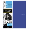 Trend Wirebound Notebooks, College Rule, 11 x 8 1/2, 5 Subject, 200 Sheets