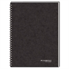 Cambridge Side Bound Guided Business Notebook, QuickNotes, 8 x 5, White, 80 Sheets