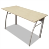 Trento Line Rectangular Desk, 47-1/4w x 23-5/8d x 29-1/2h, Oatmeal/Gray