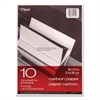 Mead Carbon Paper, Mill Finish, 8 1/2 x 11, 10 Sheets