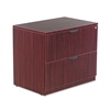 Alera Alera Valencia Series Two Drawer Lateral File, 34w x 22 3/4d x 29 1/2h, Mahogany