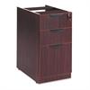 Alera Alera Valencia Box/Box/File Full Pedestal, 15 5/8w x 20 1/2d x 28 1/2h, Mahogany