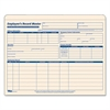 Employee Record Master File Jacket, 9 1/2 x 11 3/4, 10 Point Manila, 15/Pack