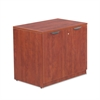 Alera Alera Valencia Series Storage Cabinet, 34w x 22 3/4d x 29 1/2h, Medium Cherry