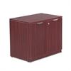 Alera Alera Valencia Series Storage Cabinet, 34w x 22 3/4d x 29 1/2h, Mahogany