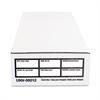 Universal Economy Storage Box, Check/Deposit, Paper, 9 x 24 x 4, White, 12/Carton