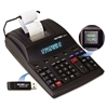 Victor 1280-7 Two-Color Printing Calculator w/USB, Black/Red Print, 4.6 Lines/Sec