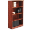 Alera Alera Valencia Series Bookcase, Four-Shelf, 31 3/4w x 14d x 55h, Medium Cherry
